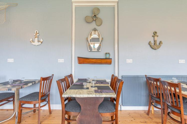 Selection of dishes at the Padarn Hotel Bistro